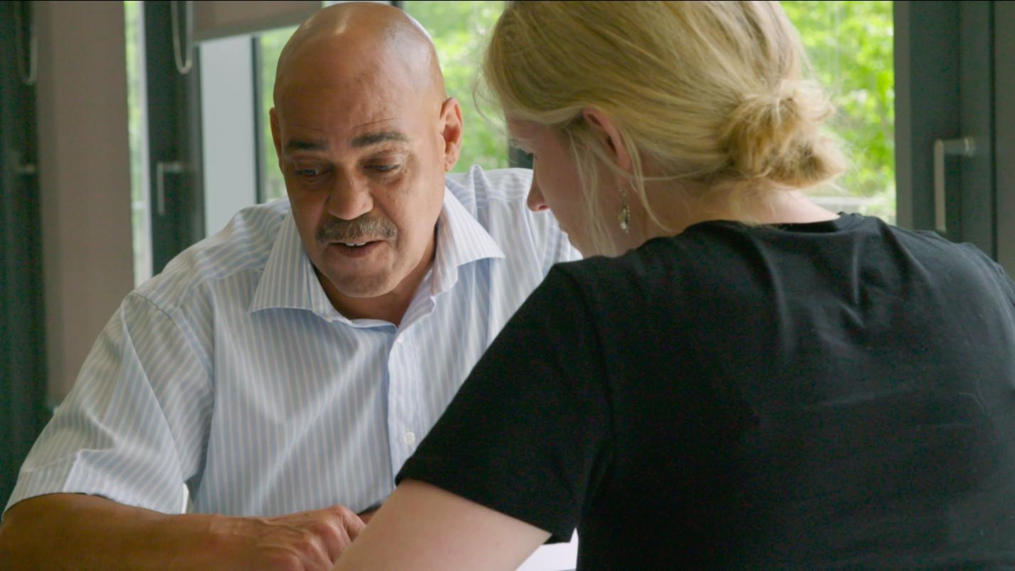 Veteran and Homeless Prevention Officer Alan Marshall