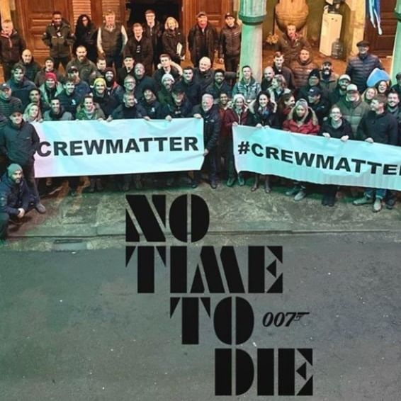 No Time To Die crew