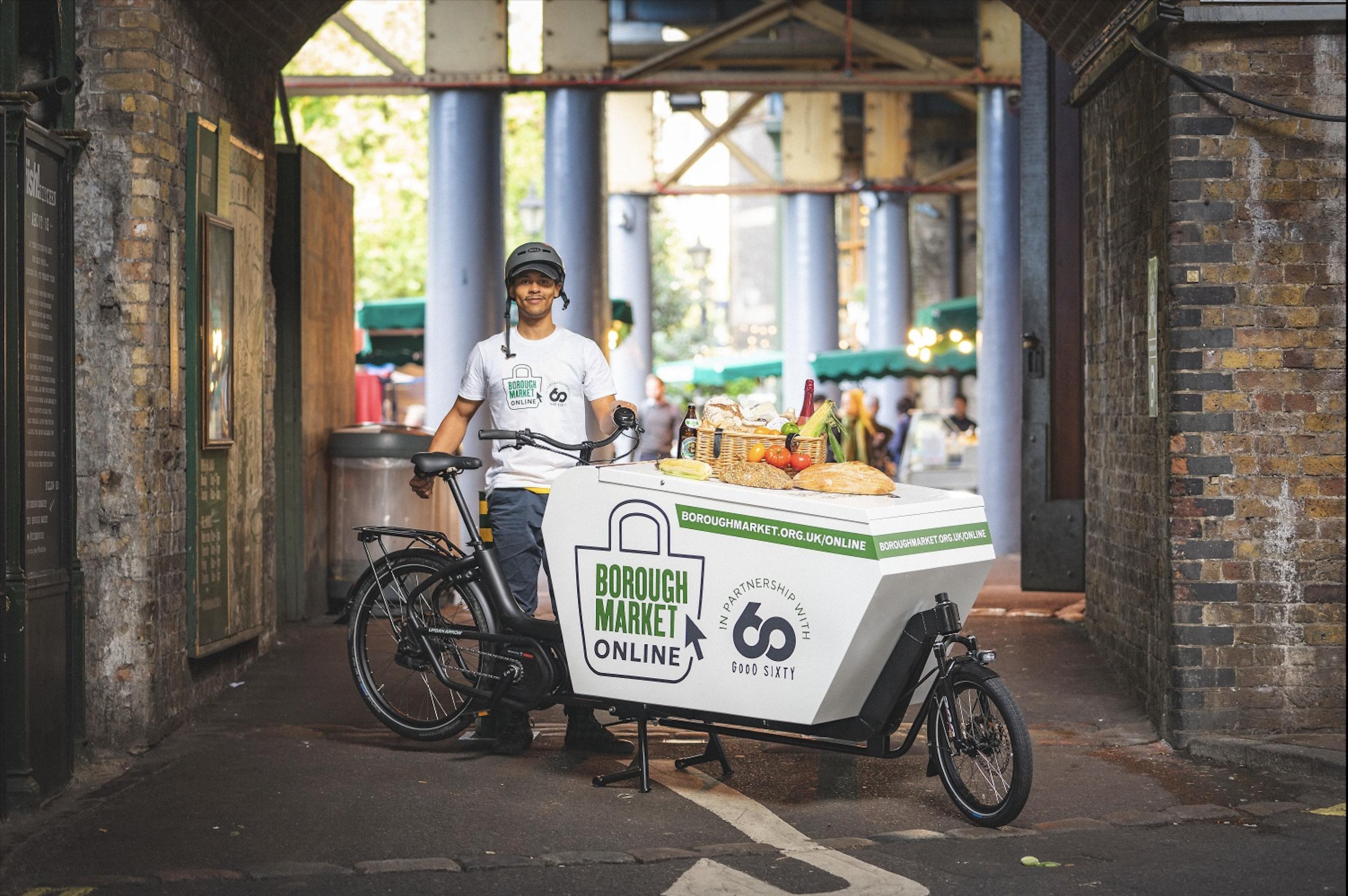 Borough Market Bike Delivery